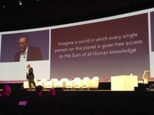 Wikipedia Founder Jimmy Wales, IFS World Conference, May 2015.